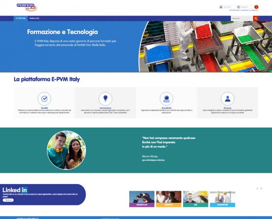 E-PVM Italy, la piattaforma Perfetti