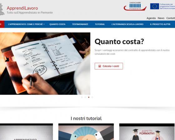 Sviluppo di una piattaforma informativa on line sull'apprendistato – Progetto ALPTIS
